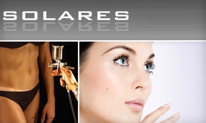 Solares - Hoboken: Beauty and Tanning Services at Solares. Choose from Four Options.