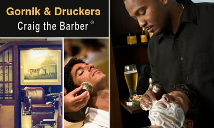 Craig the Barber - Beverly Hills: $65 for a Men's Haircut and Presidential Shave with Craig the Barber at Gornik and Drucker's