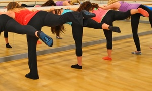 Blue Barre and Dance Fitness: 5 or 10 Barre Classes at Blue Barre and Dance Fitness (Up to 60% Off)