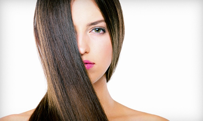 RONK Hair Design - Gaslamp: Haircut with Deep-Conditioning Treatment and Optional Partial or Full Highlights at RONK Hair Design (Up to 71% Off)