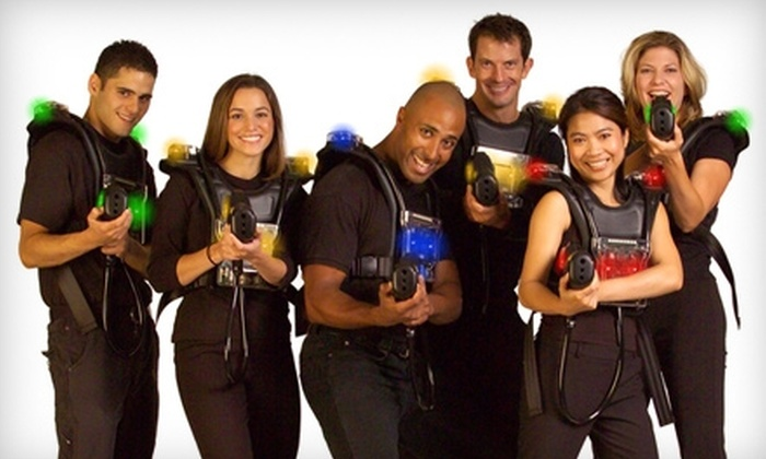 Laser Assault - Central Business District: $10 for $20 Worth of Laser Tag and Mini Golf at Laser Assault in Provo