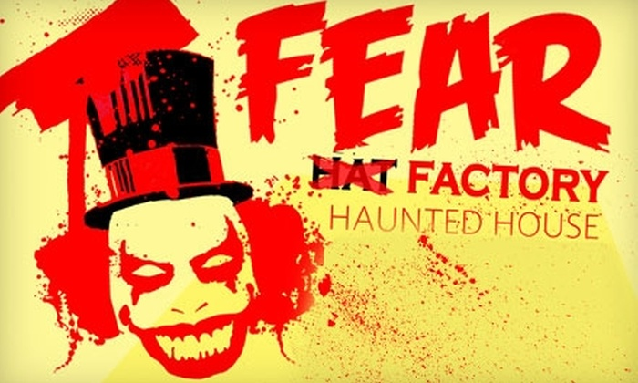 Hat Factory's Fear Factory Haunted House and Festival  - Shockoe Slip: $35 for a 13-Day Pass to Hat Factory's Fear Factory Haunted House and All Events at the Festival ($69 Value)