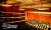 Utah Symphony - Rio Grande: $42 for a 2010–11 Masterworks Trio Season Ticket Package at the Utah Symphony
