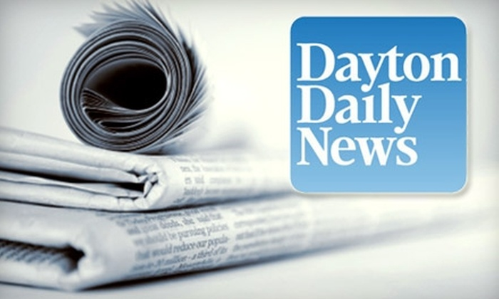 "Dayton Daily News: $24 for 26 Weeks of the Thursday and Sunday Editions of the ""Dayton Daily News"" ($65 Value)"