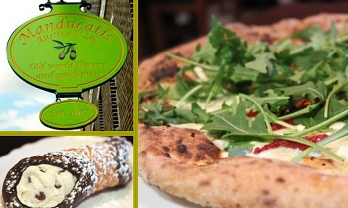 Manducatis Rustica - Hunters Point: $20 for $40 Worth of Italian Cuisine at Manducatis Rustica