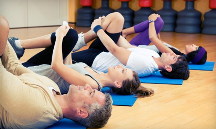 Sport&Health - Multiple Locations: Single or Couples One-Month Club Membership with Childcare at Sport&Health (Up to 78% Off)
