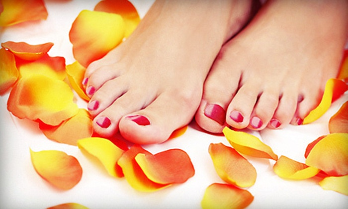 Euphoria Nails & Spa - Hollywood: One, Two, or Three Classic Pedicures at Euphoria Nails & Spa (52% Off)