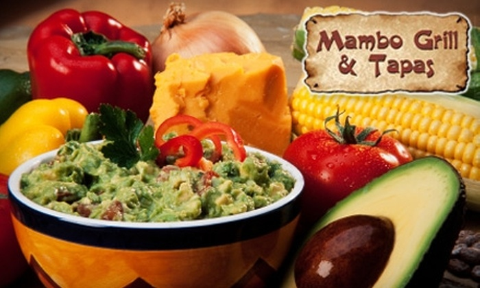 Mambo Grill & Tapas - Salisbury: $10 for $20 Worth of Cuban Fare at Mambo Grill & Tapas in Salisbury