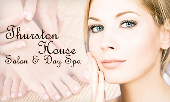 Thurston House Salon & Day Spa - Hanestown: $25 for $50 Worth of Spa and Salon Services at Thurston House Salon & Day Spa