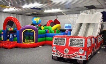 4 All-Day Bounce Passes (a $32 Value) - Badger Bouncers Playland in Little Suamico