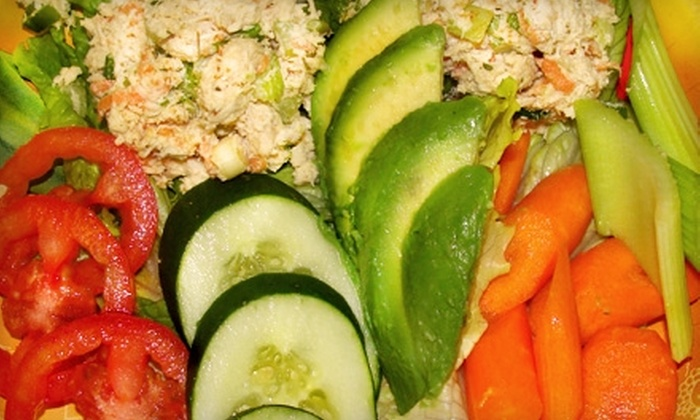 The Health Nut - Deer Park: $7 for $15 Worth of Healthy Lunch Fare, Vitamins, and More at The Health Nut in Deer Park
