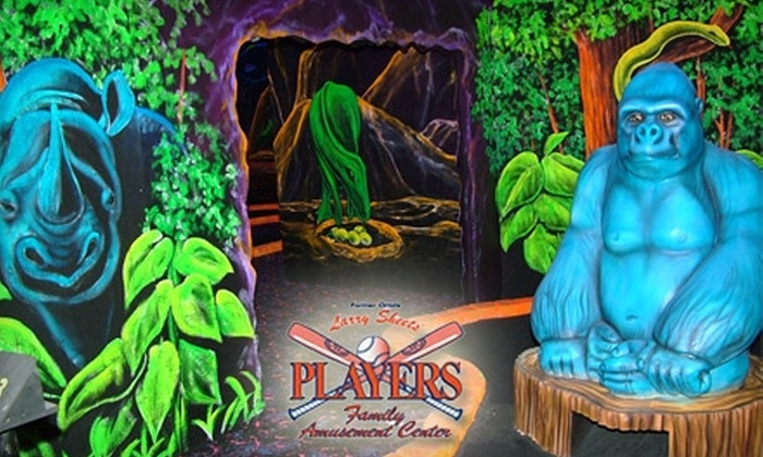 Larry Sheets Players - 7, Westminster: $10 for the Home-Run Combo Package at Larry Sheets Players Family Amusement Center ($20 Value)