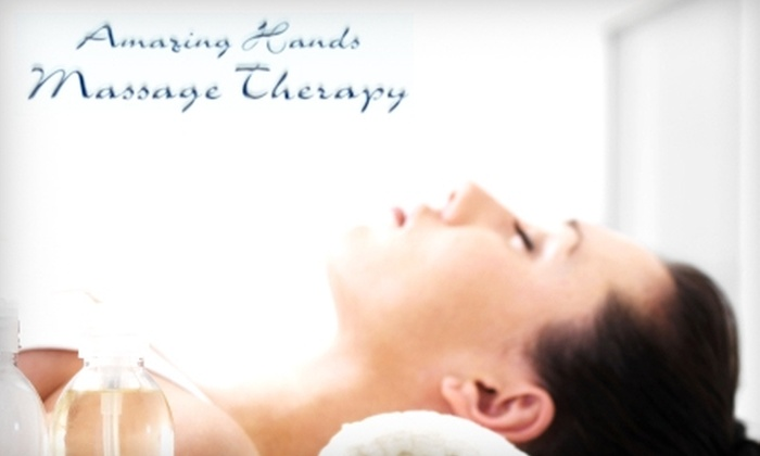 Amazing Hands Massage Therapy and Spa - Denver: $30 for Hot-Stone Massage or Swedish Massage at Amazing Hands Massage Therapy and Spa (Up to $65 Value)