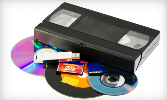 Interactive Video - Columbus GA: $14 for Two Videotapes Converted into Two DVDs from Interactive Video ($50 Value)