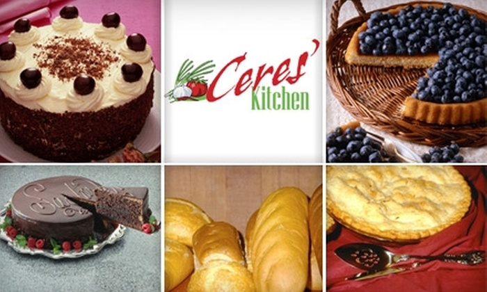 Ceres' Kitchen - Briargate: $10 for $20 Worth of Gluten-Free Baked Goods and Prepared Meals at Ceres' Kitchen