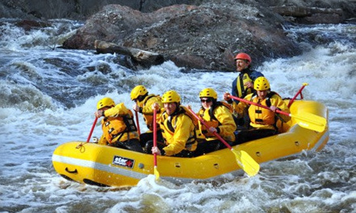 Northwood's Adventure - Vulcan: $50 for a Whitewater-Rafting Tour for Two People from Northwood's Adventure in Vulcan ($105.90 Value)