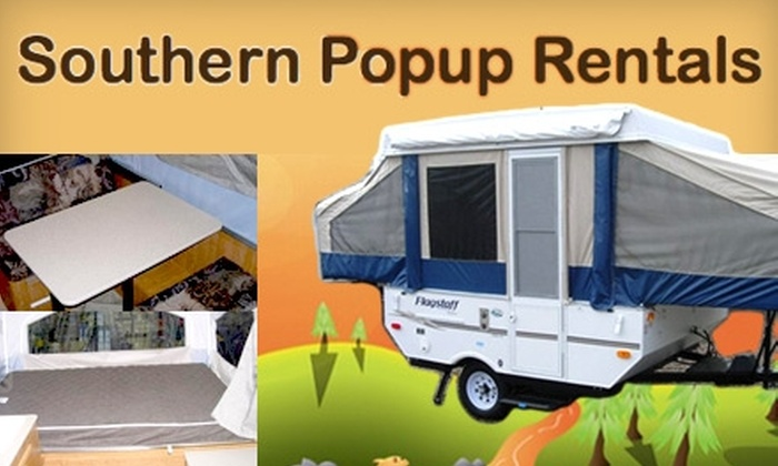 Southern Popup Rentals - Raleigh / Durham: $125 for a Three-Day, Two-Night Camper Rental from Southern Popup Rentals