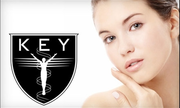 Key Laser Institute for Aesthetic Medicine - Cedar Hills - Cedar Mill: $1,425 for Neck Ultherapy and Laser Treatment at Key Laser Institute for Aesthetic Medicine ($2,850 Value)