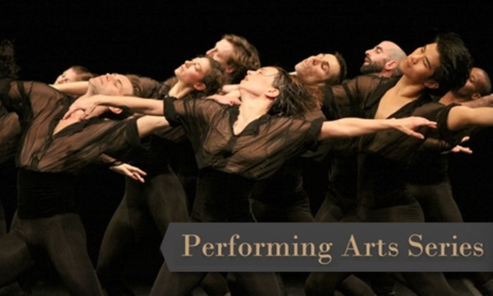 Performing Arts Series - Overland Park: Ticket to Select Shows in the Performing Arts Series at Johnson County Community College. Choose from Four Shows and Two Seating Options.