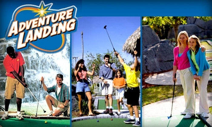 Adventure Landing - Gastonia: $16 for 10 Rounds of Mini-Golf at Gastonia's Adventure Landing
