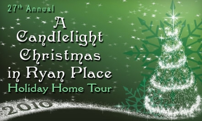 "A Candlelight Christmas in Ryan Place - Fort Worth: $10 for One Ticket to ""A Candlelight Christmas in Ryan Place"" Holiday Home Tour (Up to $20 Value)"