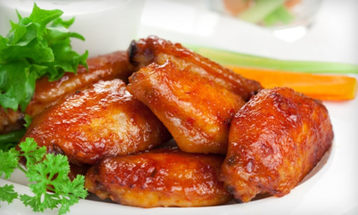 Kickin Wings - Arvada Plaza Area: $10 for $20 Worth of Wings at Kickin Wings