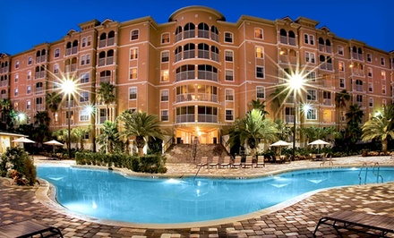 Groupon Deal: Stay with Wildlife Park Passes at Mystic Dunes Resort & Golf Club in Greater Orlando
