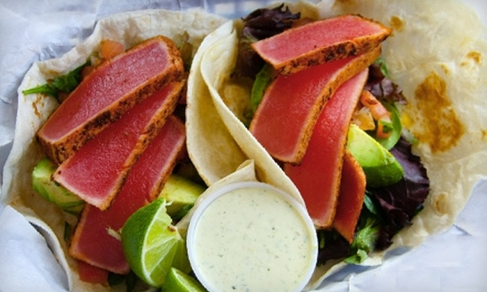 Cuatro's - West University: $10 for $20 Worth of Mexican Fare and Burgers at Cuatro's