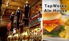 TapWerks Ale House and Café  - Downtown Oklahoma City: $15 for $30 Worth of Draft Beer and Pub Fare at TapWerks Ale House and Café