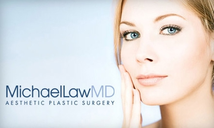Michael Law, M.D.  - North Raleigh: $64 for One Month of Skin-Rejuvenation Therapy, 10 Units of Botox, or a Back Facial from Michael Law, M.D. Aesthetic Plastic Surgery (Up to $400 Value)