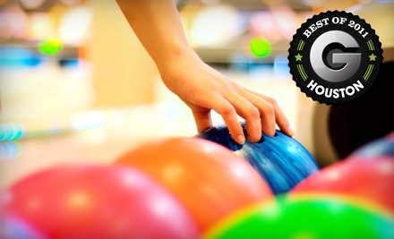 1-Hour Bowling Outing for Up to 5 (a $37.25 total value) - Del-Mar Lanes in Houston