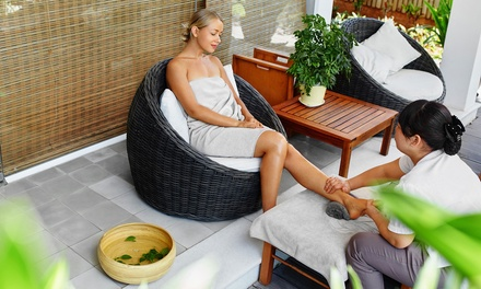 Foot Reflexology Massage with Optional Combo Body Massage at Miao Spa (Up to 19% Off). Three Options Available.