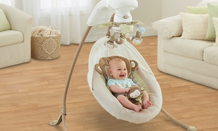 Fisher-Price My Little SnugaMonkey Special Edition Cradle 'n Swing