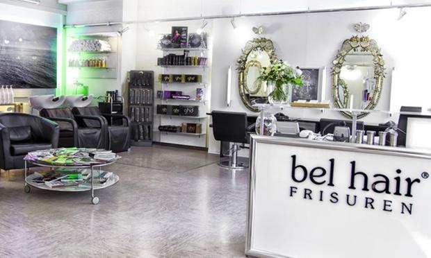 Bel hair frisuren in frankfurt he groupon for Salon bel hair