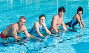 Swimart: 5 wejść na aqua aerobic (39,99 zł), aqua pole dance (65,99 zł), aqua cycling (74,99 zł) w Swimart – 2 miasta