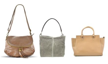 Handtassen in taupekleur voor dames