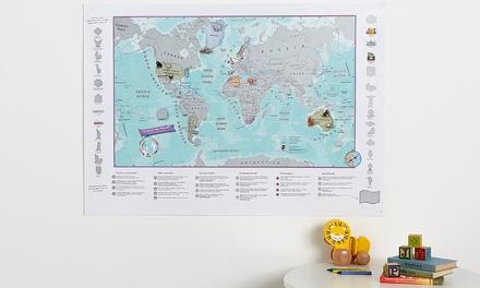 Mappa Scratch the World