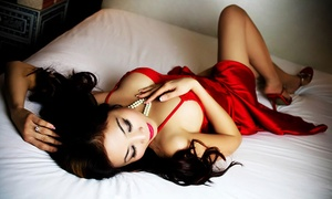 Celebrate Your Sexy: Boudoir Photo Shoot Package with Prints at Celebrate Your Sexy (94% Off). Two Options Available.