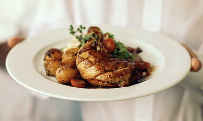 Good Eats Chef Services, LLC - Woodlawn: Three-Course Gourmet Dinner Prepared by Personal Chef for Two or Four from Good Eats Chef Services, LLC (Up to 60% Off)