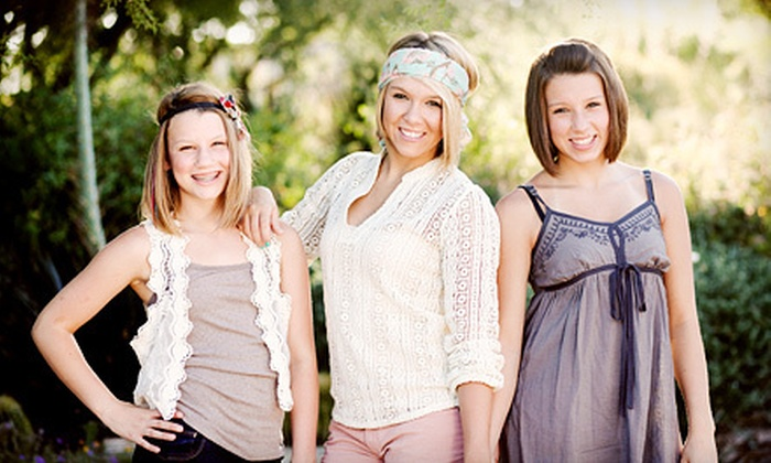 This Is Life Photography - Multiple Locations: $69 for On-Location Portrait Shoot with Two Prints and One Digital Image from This Is Life Photography ($520 Value)