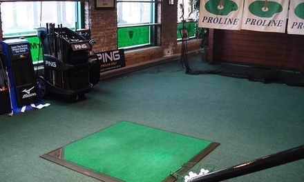 One or Two One-Hour Golf Simulator Sessions at Proline Golf (Up to 76% Off)