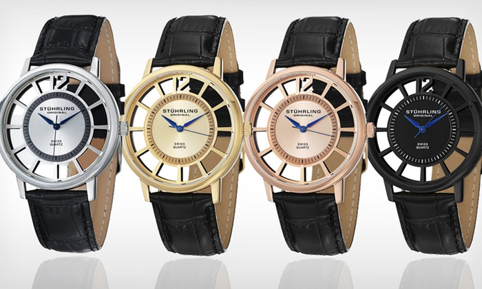 Stührling Original Men's Watches: $59.99 for a Stührling Original Men's Watch ($345 List Price). 4 Designs Available. Free Shipping and Returns.