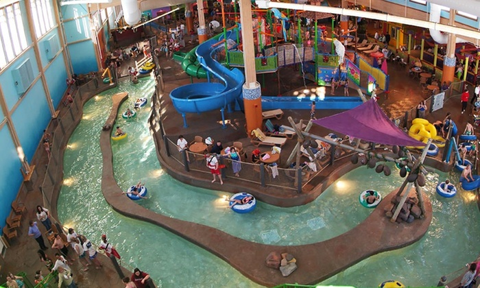 Clock Tower Resort - Rockford: Stay with Water-Park and Museum Passes, Pizza, and Arcade Credits at Clock Tower Resort in Rockford, IL