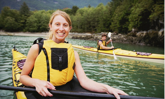 Paddle Creek - Frenchtown: $45 for an Intro Standup-Paddleboarding Class for One or an All-Day Kayak Rental for Two at Paddle Creek ($90 Value)