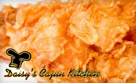 $20 Groupon to Daisy's Cajun Kitchen - Daisy's Cajun Kitchen in San Marcos
