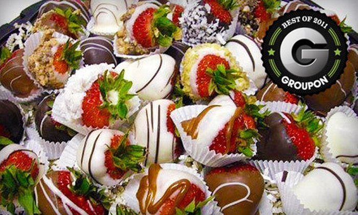 Anthony's Chocolate Dipped Fruit - Colonie: $12 for $25 Toward Chocolate-Dipped Fruit and Gourmet Gift Baskets at Anthony's Chocolate Dipped Fruit in Latham
