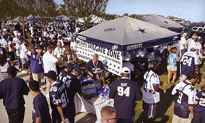 Maximum Sports Connection - Multiple Locations: Dallas Cowboys Tailgate Party or Autograph Dinner Party from Maximum Sports Connection. 10 Options Available.