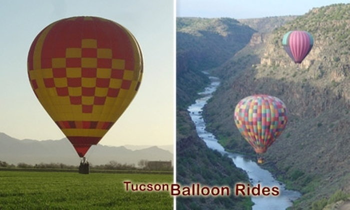Tucson Balloon Rides - Tucson: $126 Hour-Long Hot Air Balloon Ride from Tucson Balloon Rides