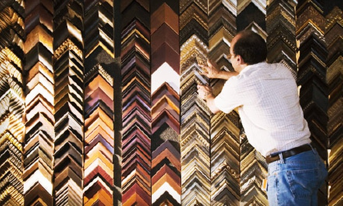 A Frame of Art - San Marcos: $40 for $100 Worth of Custom Framing at A Frame of Art in Vista