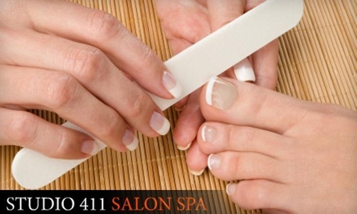 Studio 411 Salon Spa - Bryn Mawr: $25 for a Pedicure and Paraffin-Wax Hand Treatment at Studio 411 Salon Spa ($60 Value)